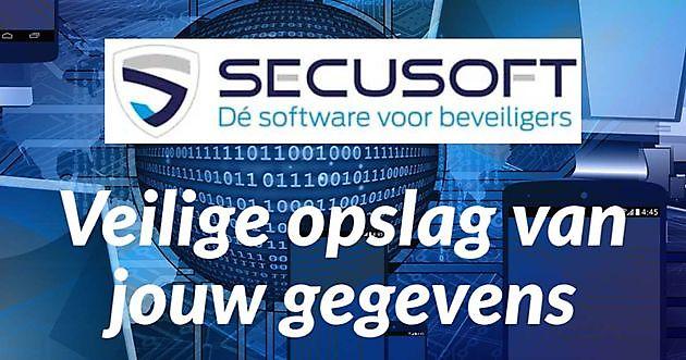 Veiligheid van jouw gegevens gewaarborgd - Secusoft, dé software voor beveiligers