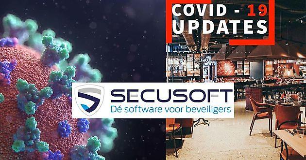 Nieuwe module voor controle en rapportage COVID-19 richtlijnen. - Secusoft, dé software voor beveiligers