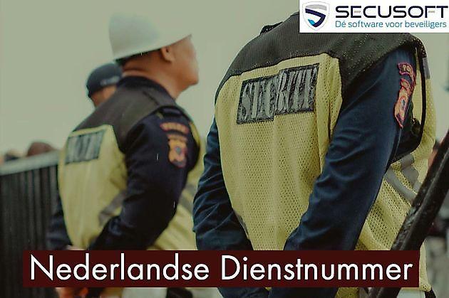 Het ND Nummer (Nederlandse Dienstnummer) - Secusoft, dé software voor beveiligers
