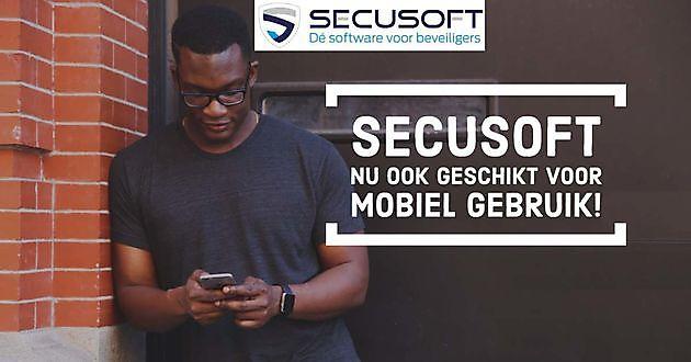 Secusoft nu ook mobiel beschikbaar - Secusoft, dé software voor beveiligers