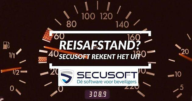 Secusoft berekent automatisch het aantal kilometers! - Secusoft, dé software voor beveiligers