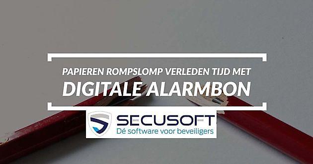Ervaar het gemak van digitale alarmbonnen - Secusoft, dé software voor beveiligers