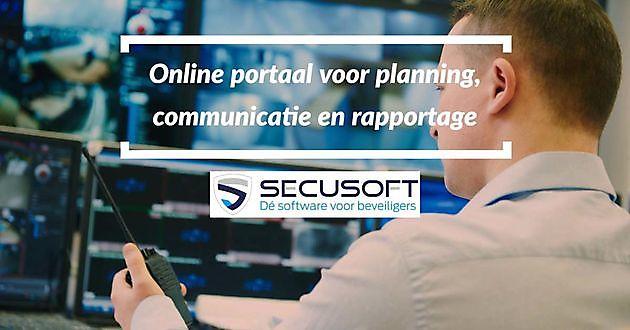 Online portaal voor planning, communicatie en rapportage - Secusoft, dé software voor beveiligers