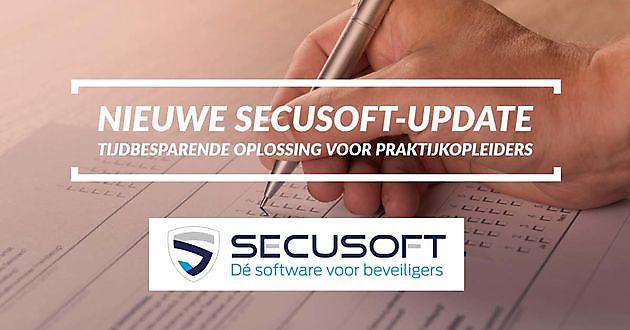 Nieuwe update Secusoft uitkomst voor Praktijkopleiders - Secusoft, dé software voor beveiligers