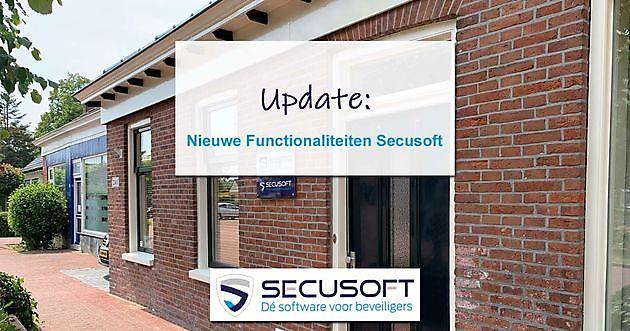 Updates en Nieuwe Functionaliteiten Secusoft - Secusoft, dé software voor beveiligers