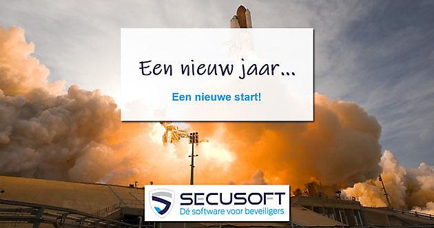 Een nieuw jaar, een nieuwe start! - Secusoft, dé software voor beveiligers