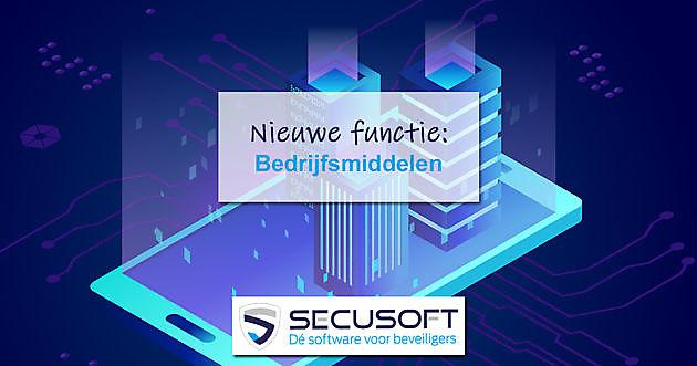 Nieuwe module: Bedrijfsmiddelen - Secusoft, dé software voor beveiligers