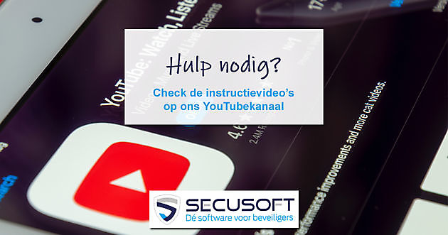 Instructievideo's op YouTube - Secusoft, dé software voor beveiligers
