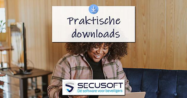 Heb je onze downloads al gezien? - Secusoft, dé software voor beveiligers