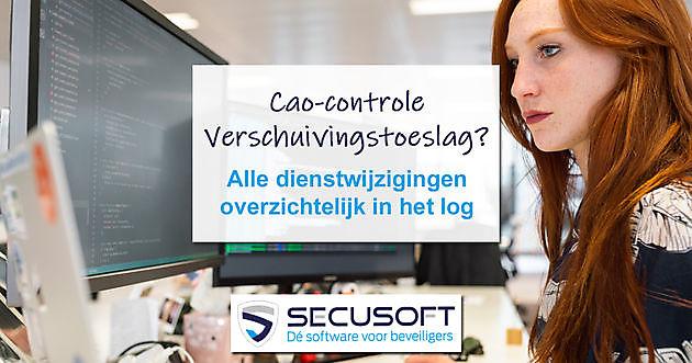 Voorkom boete voor niet betalen verschuivingstoeslag - Secusoft, dé software voor beveiligers