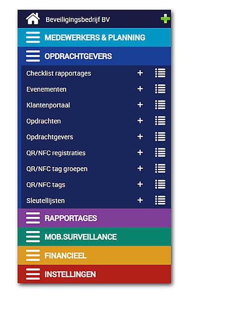 Evenementenbeveiliging plannen en NFC-tags, de mobiele prikklok - Secusoft, dé software voor beveiligers