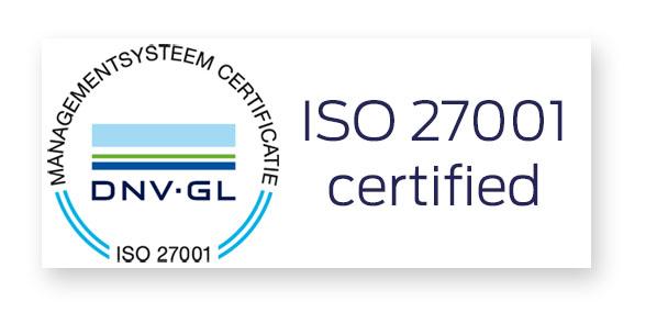 ISO 27001 gecertificeerd - Secusoft, dé software voor beveiligers