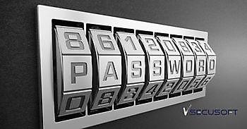 Alleen sterke wachtwoorden mogelijk SecuSoft Software Beveiligingsbedrijven
