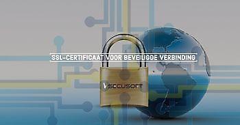 SSL-certificaat zorgt voor beveiligde verbinding SecuSoft Software Beveiligingsbedrijven