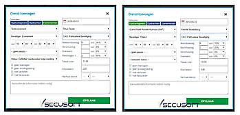 Toeslagen worden automatisch berekend Secusoft, dé software voor beveiligers