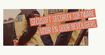 Zo overzichtelijk en snel kan uw werk worden met Secusoft Secusoft, dé software voor beveiligers