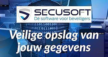 Veiligheid van jouw gegevens gewaarborgd Secusoft, dé software voor beveiligers