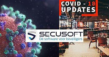 Nieuwe module voor controle en rapportage COVID-19 richtlijnen. Secusoft, dé software voor beveiligers