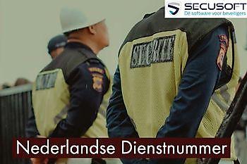 Het ND Nummer (Nederlandse Dienstnummer) Secusoft, dé software voor beveiligers