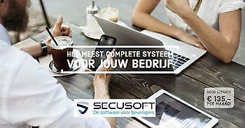 Professioneel backofficesysteem voor élk bedrijf Secusoft, dé software voor beveiligers