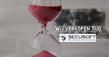 Met Secusoft houdt u tijd over Secusoft, dé software voor beveiligers