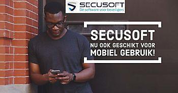 Secusoft nu ook mobiel beschikbaar Secusoft, dé software voor beveiligers