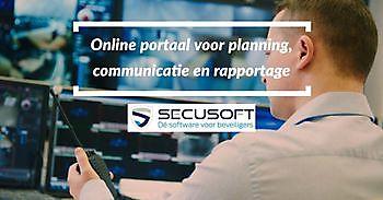 Online portaal voor planning, communicatie en rapportage Secusoft, dé software voor beveiligers