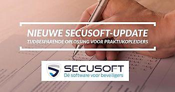 Nieuwe update Secusoft uitkomst voor Praktijkopleiders Secusoft, dé software voor beveiligers