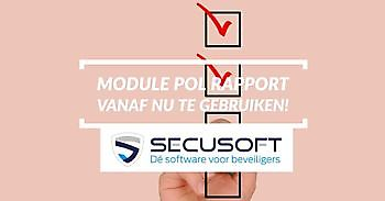 Nieuwste Secusoft-functie online! Secusoft, dé software voor beveiligers