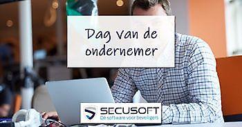 Ondernemers in de beveiligingsbranche vieren de Dag van de Ondernemer 2020 Secusoft, dé software voor beveiligers