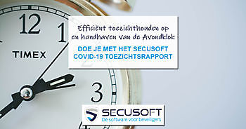 Efficiënt toezichthouden en handhaven avondklok Secusoft, dé software voor beveiligers