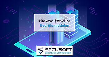 Nieuwe module: Bedrijfsmiddelen Secusoft, dé software voor beveiligers