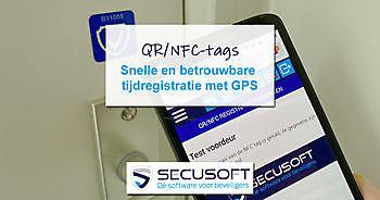 Voordelige en betrouwbare tijdregistratie met QR/NFC Secusoft, dé software voor beveiligers