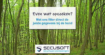 Secusoft breidt zoekfunctie uit met filter Secusoft, dé software voor beveiligers
