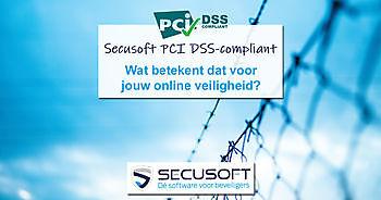 Secusoft is PCI DSS-compliant ter bescherming van jouw data Secusoft, dé software voor beveiligers