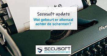 Updates van Secusoft Secusoft, dé software voor beveiligers